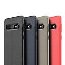 levne Galaxy S pouzdra / obaly-Carcasă Pro Samsung Galaxy Galaxy S10 / Galaxy S10 Plus Ultra tenké Zadní kryt Jednobarevné Měkké TPU pro S9 / S9 Plus / Galaxy S10