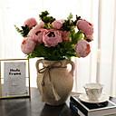 رخيصةأون أزهار اصطناعية-زهور اصطناعية 1 فرع كلاسيكي الحديث المعاصر أوروبي الفاوانيا الزهور الخالدة أزهار الطاولة