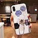رخيصةأون أغطية أيفون-الحال بالنسبة لتفاح iphone xr / iphone xs max pattern / imd / مع حامل الغطاء الخلفي الرخام لينة tpu ل iphonex xs 8 8plus 7 7plus 6 6plus 6s 6splus