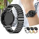 baratos Pulseiras para Samsung-Pulseiras de Relógio para Gear S3 Frontier / Gear S3 Classic Samsung Galaxy Pulseira Esportiva / Fecho Clássico Metal / Aço Inoxidável Tira de Pulso