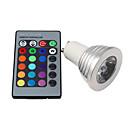 ieftine Becuri LED Glob-1 buc 3 W Bulb LED Glob 250 lm E14 GU10 E26 / E27 1 LED-uri de margele LED Putere Mare Telecomandă RGB
