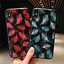 رخيصةأون أغطية أيفون-غطاء من أجل Apple iPhone XS / iPhone XR / iPhone XS Max نموذج غطاء خلفي الريش ناعم TPU