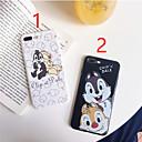 halpa iPhone kotelot-kotelo omena iPhone xr / iphone xs max kuvio takakansi sarjakuva pehmeä tpu iPhone x xs 8 8plus 7 7plus 6 6s 6plus 6s plus