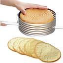 ieftine Camere IP-tort mucegai creativ rotund reglabil tort de copt wafer