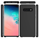 cheap Galaxy S Series Cases / Covers-Case For Samsung Galaxy Galaxy S10 / Galaxy S10 Plus Frosted Back Cover Solid Colored Soft Silica Gel for S9 / S9 Plus / S8 Plus
