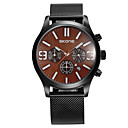 cheap Men's Watches-SKONE Men's Sport Watch Japanese Japanese Quartz Stainless Steel Black 30 m Calendar / date / day Casual Watch Analog Outdoor Fashion - Black Brown Black / Rose Gold Two Years Battery Life