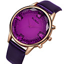 cheap Necklaces-Women's Quartz Watches Fashion Elegant White Red Pink PU Leather Chinese Quartz Red Pink Purple Casual Watch Analog