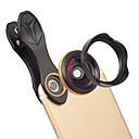 abordables Lentes para Móvil-Lente de teléfono móvil Gran Angular vidrio / Aleación de aluminio 1X 37 mm 0.15 m 115 ° Nuevo diseño