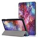 رخيصةأون Lenovo أغطية / كفرات-غطاء من أجل Lenovo Lenovo Tab E10 (TB-X104) / Lenovo Tab M10 (TB-X605F) / Lenovo Tab P10 (TB-X705F / L) ضد الصدمات / قلب / أورجامي غطاء كامل للجسم منظر قاسي جلد PU