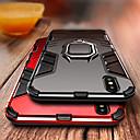 abordables Protections Ecran pour iPhone XR-Coque Pour Apple iPhone XS / iPhone XR / iPhone XS Max Antichoc / Anneau de Maintien Coque Armure Dur PC pour iPhone XS / iPhone XR / iPhone XS Max
