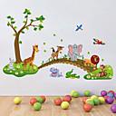 Χαμηλού Κόστους Διακοσμητικά αυτοκόλλητα-Διακοσμητικά αυτοκόλλητα τοίχου - Αεροπλάνα Αυτοκόλλητα Τοίχου / Animal αυτοκόλλητα τοίχου Ζώα / Άνθινο / Βοτανικό Παιδικό / Παιδικό Δωμάτιο