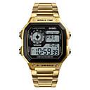 levne Pánské-SKMEI®1382 Muži ženy Inteligentní hodinky Android iOS WIFI Voděodolné Sportovní Dlouhá životnost na nabití Smart Kompas Časovač Stopky Krokoměr Budík Chronograf