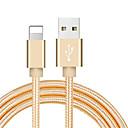 ieftine Ustensile de Fructe & Legume-fulger usb cablu adaptor cablu împletit pentru iPhone 100 cm pentru nailon