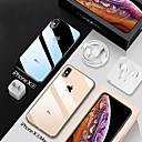 Недорогие Чехлы и кейсы для Galaxy A7-Кейс для Назначение Apple iPhone XS / iPhone XR / iPhone XS Max Защита от удара / Покрытие / Прозрачный Кейс на заднюю панель Прозрачный Мягкий ТПУ