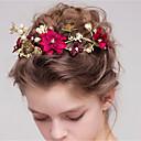 رخيصةأون مجوهرات الشعر-نسائي موضة لطيف لؤلؤ تقليدي سبيكة ورد