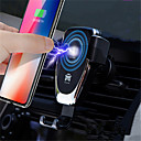 cheap Fast Chargers-Wireless CarChargers USB Charger USB QC 2.0 / QC 3.0 2 A DC 9V / DC 5V for Universal