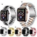 abordables Correas para Apple Watch-Ver Banda para Apple Watch Series 4 Apple Hebilla Moderna Metal / Acero Inoxidable Correa de Muñeca