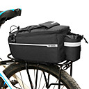 cheap Bike Lights-B-SOUL 6.5 L Bike Rack Bag Multifunctional Large Capacity Waterproof Bike Bag 600D Polyester Bicycle Bag Cycle Bag Cycling Road Bike Mountain Bike MTB Outdoor / Reflective Strips