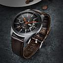 رخيصةأون أساور ساعات لهواتف سامسونج-حزام إلى Gear S3 Frontier / Gear S3 Classic / Samsung Galaxy Watch 46 Samsung Galaxy عصابة الرياضة ستانلس ستيل / جلد شريط المعصم