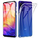 ieftine Carcase / Huse de Xiaomi-Maska Pentru Xiaomi Xiaomi Redmi Note 7 / Xiaomi Redmi Note 7 Pro / Xiaomi Redmi 7 Ultra subțire / Transparent Capac Spate Transparent Moale TPU