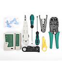ieftine Carcase Laptop-14pcs / set de unelte de linie de rețea manual de rețea de cablu de practică instrument de tăiere portabil