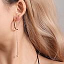 ieftine Cercei-Pentru femei Cercei Picătură Clasic Stilat cercei Bijuterii Auriu / Argintiu Pentru Zilnic 1 Pair