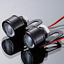 ieftine Lumini de Interior Mașină-2pcs Motocicletă Becuri LED Bec de Zi Pentru Motocicleta Toate Modele Toți Anii