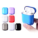 cheap iPhone Cases-Case For AirPods Shockproof / Dustproof Headphone Case Hard