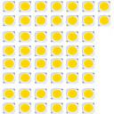 ieftine LED-uri-50pcs LED-uri de margele lampă de sursă de căldură de culoare alb alb albastru 5w cob lampă de iluminat sursă de iluminat 13.5mm * 13.5mm accesorii de iluminat