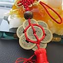 رخيصةأون ساعات الرجال-الأزياء الصينية عقدة شرابة الصين التميمة محظوظ سحر العملات القديمة قلادة سيارة شنقا الملحقات