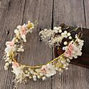 رخيصةأون مجوهرات الشعر-نسائي شائع موضة لطيف لؤلؤ تقليدي سبيكة لون سادة