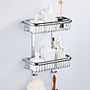 economico Gadget per il bagno-Mensola del bagno Multistrato / Nuovo design Modern Ottone 1pc - Bagno / Bagno dell'hotel Matrimoniale Montaggio su parete