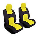 ieftine Volane & Accesorii-4pcs / set universale masina scaun fata fata perna capac pernă capac acoperă respirabil pânză scaun acoperi set