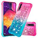 cheap Galaxy A Series Cases / Covers-Case For Samsung Galaxy Galaxy A30(2019) / Galaxy A50(2019) Shockproof / Flowing Liquid / Glitter Shine Back Cover Glitter Shine / Color Gradient Soft TPU for Galaxy A7(2018) / Galaxy A9(2018