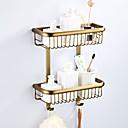 economico Gadget per il bagno-Mensola del bagno Multistrato / Nuovo design Antico / Paese Ottone 1pc - Bagno / Bagno dell'hotel Matrimoniale Montaggio su parete