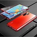 رخيصةأون Huawei أغطية / كفرات-مغناطيسي الامتزاز المغناطيسي حالة الزجاج المعدنية لهواوي p30 الموالية p30 لايت p30 الحالات الغطاء الخلفي لهواوي p20 الموالية p20 لايت p20
