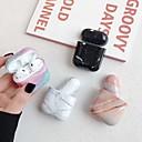 billige Tilbehør til høretelefoner-til airpods hovedtelefon taske plast shell rødme pink / hvid / sort 1 stk