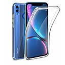 ieftine Carcase / Huse de Huawei-Maska Pentru Huawei Onoare 8X Rezistent la apă / Anti Șoc / Anti Praf Carcasă Telefon Transparent Moale TPU