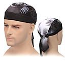ieftine Pălării, Șepci & Bandane-XINTOWN Căciulă Cycling Caps Skull Caps Skull Cremă Cu Protecție Solară Rezistent la UV Respirabil Protector Bicicletă / Ciclism Negru Negru / Alb Alb pentru Unisex Adulți Informal Exerciții exterior