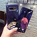 Недорогие Чехлы и кейсы для Galaxy S6 Edge-Кейс для Назначение SSamsung Galaxy S9 / S9 Plus / S8 Plus IMD / С узором Кейс на заднюю панель Мультипликация Мягкий ТПУ