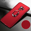 olcso Galaxy S tokok-Case Kompatibilitás Samsung Galaxy S9 / S9 Plus / S8 Plus Ütésálló / Állvánnyal / Tartó gyűrű Fekete tok Egyszínű Kemény PC / Fém / Ultra-vékeny