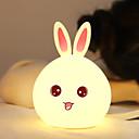 ieftine Ustensile & Gadget-uri de Copt-1 buc Rabbit Lumină de noapte / LED-uri de lumină de noapte USD Adorabil / Încântător / Gril pe Kamado 5 V
