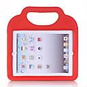 ieftine Carcase iPad-Maska Pentru Apple iPad 4/3/2 Anti Șoc / Siguranță Copii Capac Spate Mată / Desene 3D EVA