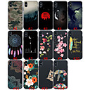 cheap iPhone Cases-Case For Apple iPhone XS / iPhone XR / iPhone XS Max Shockproof / Frosted Full Body Cases Cat / sky / Animal Soft TPU