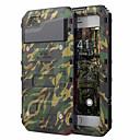 ieftine Sănătate Călătorie-Maska Pentru Apple iPhone XS / iPhone X / iPhone 8 Plus Anti Șoc / Rezistent la Apă Carcasă Telefon armură Greu PC