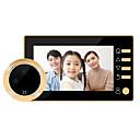 رخيصةأون ساعات ذكية-Factory OEM لاسلكي 4.3 بوصة حر اليدين واحد إلى واحد Doorphone الفيديو