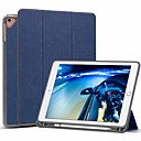 رخيصةأون أغطية أيباد-غطاء من أجل Apple iPad Air / iPad (2018) / iPad Air 2 ضد الصدمات / مع حامل / قلب غطاء كامل للجسم لون سادة قاسي جلد PU / iPad (2017)
