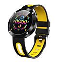 ieftine Câini Gulere, hamuri și Curelușe-dm58plus ceas inteligent bărbați ritm cardiac monitorizarea tensiunii arteriale multiple sport tracker bluetooth smartwatch ip68 impermeabil