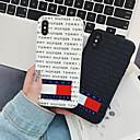 رخيصةأون أغطية أيفون-غطاء من أجل Apple iPhone XS / iPhone XR / iPhone XS Max نحيف جداً / نموذج غطاء خلفي جملة / كلمة TPU