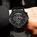 ieftine Ceasuri Bărbați-Bărbați Ceas Sport Quartz Piele Negru / Auriu Ceas Casual Analog Modă - Negru Maro Un an Durată de Viaţă Baterie